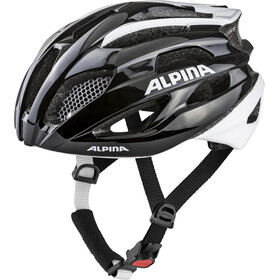 Alpina Fedaia Fietshelm, black-white